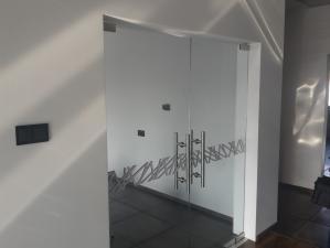 drzwi szklane  śląsk